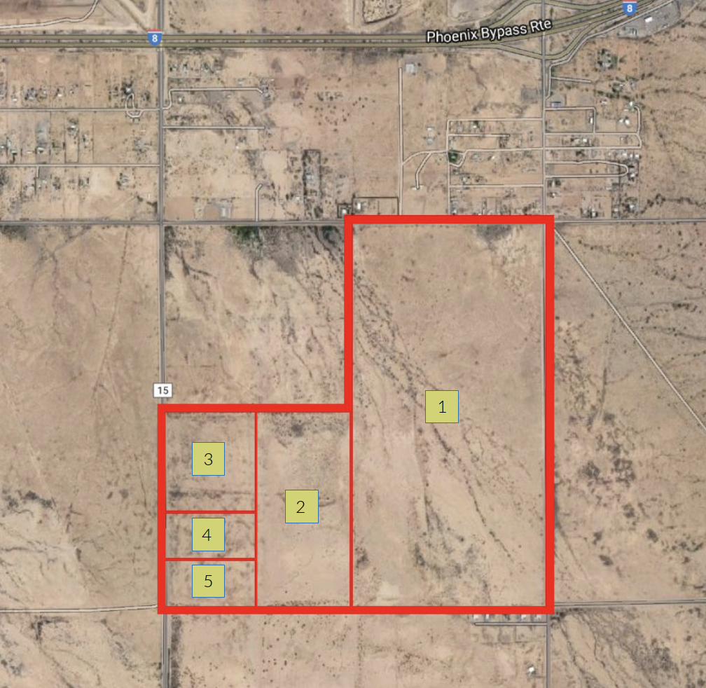casa grande land for sale invest, develop, residential, PAD, solar